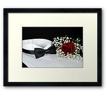 Tuxedo Night Framed Print