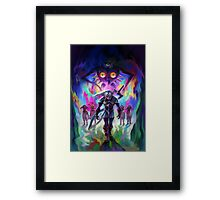 The Legend of Zelda Majora's Mask 3D Artwork #2 Framed Print