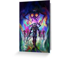 The Legend of Zelda Majora's Mask 3D Artwork #2 Greeting Card