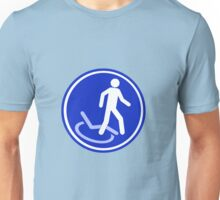 PARKING ZONE FOR DISABLED Unisex T-Shirt