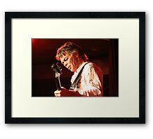 "Australian Guitar Legend ""Phil Emmanuel"" Framed Print"