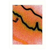 tangent dance Art Print
