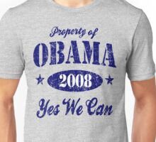 Property of Obama Yes We Can! Unisex T-Shirt