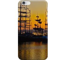 Tall ships at Greenwich iPhone Case/Skin