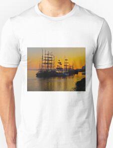 Tall ships at Greenwich T-Shirt
