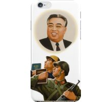 Kim Il Sung - Propaganda iPhone Case/Skin