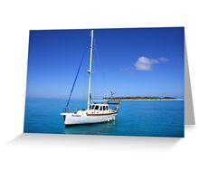 Lucky Boat Greeting Card