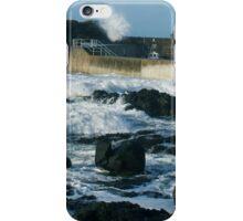 CRASHING SEA PORTSTEWART iPhone Case/Skin