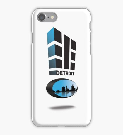 "Detroit 313 ""Represent"" iPhone Case/Skin"