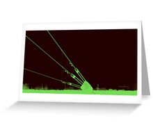 Antennae Turnbuckle Greeting Card
