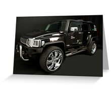 Hummer H3 Branded Greeting Card