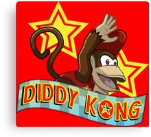Diddy Kong Canvas Print