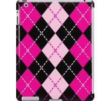 Pink Argyle Design iPad Case/Skin