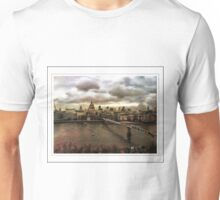 Skyline of City of London  Unisex T-Shirt
