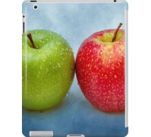 Green And Red Apples iPad Case/Skin
