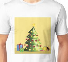 Christmas tree interior Unisex T-Shirt