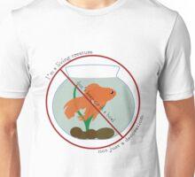 Fishbowl- Not a Decoration Unisex T-Shirt