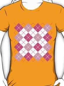 Pink Argyle T-Shirt