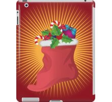 Christmas sock iPad Case/Skin