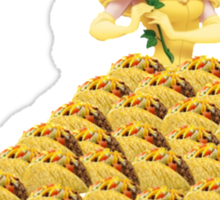 Taco Belle Sticker