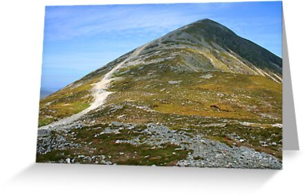 Croagh Patrick ascent by John Quinn