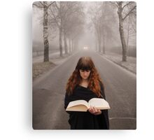The book of fantasy Canvas Print