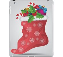 Christmas sock 4 iPad Case/Skin