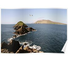 Dingle sea view Poster