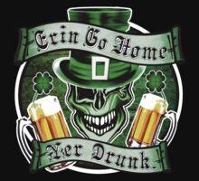Leprechaun Skull 2: Erin Go Home Yer Drunk 2 One Piece - Short Sleeve