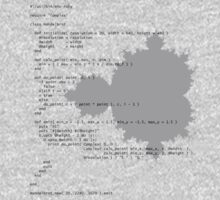 Self-Documenting Mandelbrot T-Shirt