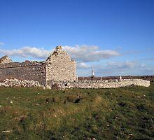 Rural Burren Church ruins by John Quinn