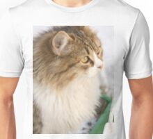 Winter Cat 2 Unisex T-Shirt