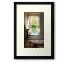 A Country Home Framed Print