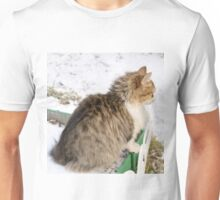Winter Cat 5 Unisex T-Shirt