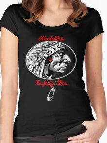 Redskins & Safetypins Women's Fitted Scoop T-Shirt