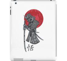 Old Samurai iPad Case/Skin