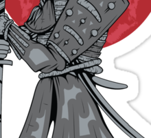 Old Samurai Sticker