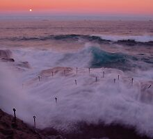Sunset at the Bogey Hole by chriso