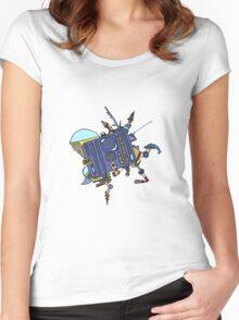 Mech bot Women's Fitted Scoop T-Shirt