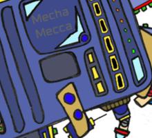 Mech bot Sticker