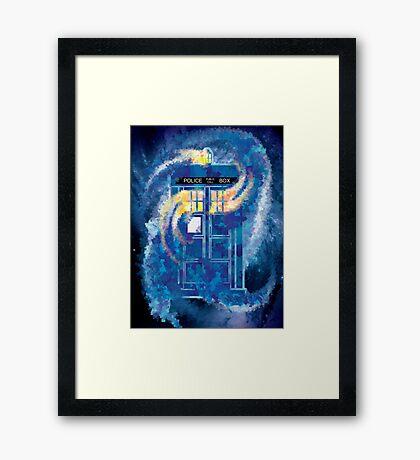 TARDIS Doctor Who Police Box Framed Print