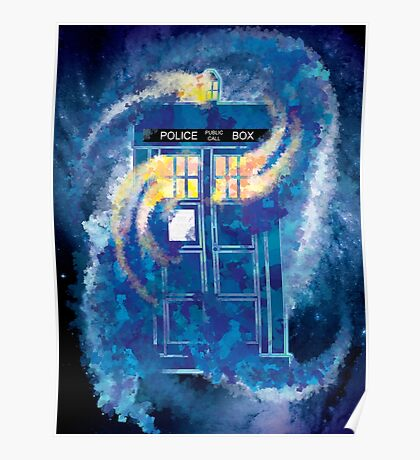 TARDIS Doctor Who Police Box Poster