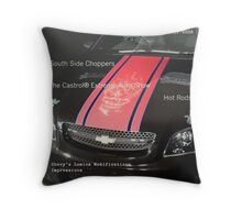 eXtreme Motoring© Initial Cover - Draft Throw Pillow