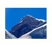 The Highest Point on Earth Art Print