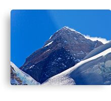The Highest Point on Earth Metal Print