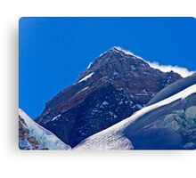 The Highest Point on Earth Canvas Print
