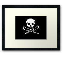 Try, try, try. Extreme sports. Framed Print