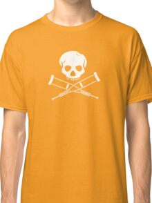 Try, try, try. Extreme sports SKULL Classic T-Shirt