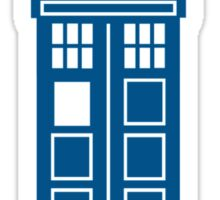 It's Dangerous To Go Alone Take Tardis Sticker