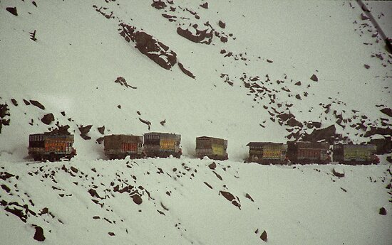 Khardung La, the highest road in the WORLD! by inge